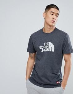 Темно-серая меланжевая футболка с логотипом The North Face International Limited Capsule - Серый