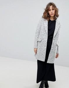 Пальто Selected Femme Aber - Белый