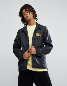 Спортивная куртка с логотипом Volcom - Черный