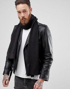 Черный шарф AllSaints Trias - Черный