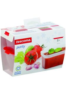 Набор мини-контейнеров для заморозки PURITY, 120мл (4 шт.) tescoma