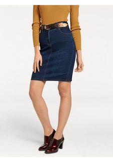 Моделирующая джинсовая юбка ASHLEY BROOKE by Heine