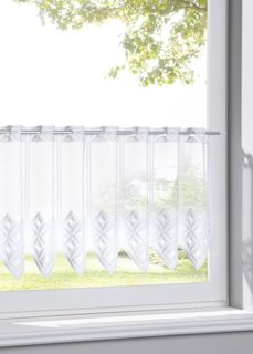 Кухонная штора Хайке (1 шт.) (белый) Bonprix