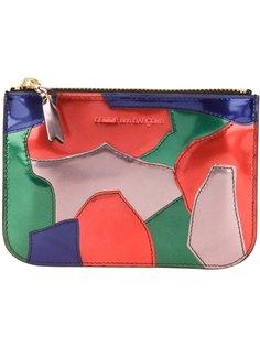 кошелёк с принтом пэтчворк Comme Des Garçons Wallet