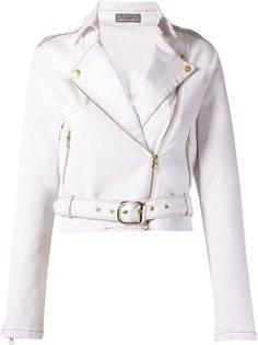 укороченная байкерская куртка  Amapô