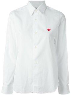 рубашка с вышивкой Comme Des Garçons Play