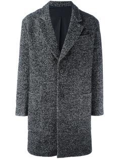 пальто с узором в елочку Ami Alexandre Mattiussi