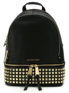 маленький рюкзак Rhea с заклепками Michael Michael Kors