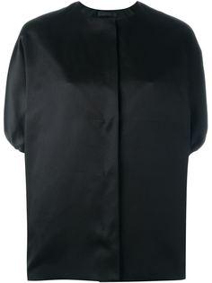 куртка-бомбер без воротника The Row