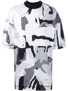 футболка с абстрактным принтом Études