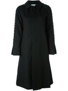 однобортное пальто Comme Des Garçons Noir Kei Ninomiya