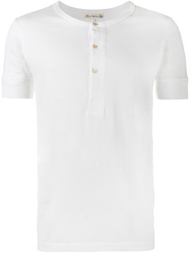 футболка на пуговицах  Merz B. Schwanen
