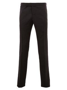 брюки с полосатыми деталями Thom Browne