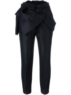 строгие брюки с оборками Dsquared2