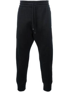 спортивные брюки с вышивкой Helmut Lang