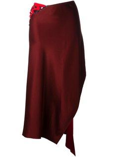 асимметричная юбка DKNY