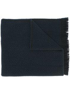 шарф с зигзагообразным узором Valentino