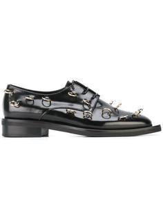 ботинки Дерби декорированные пирсингом Coliac