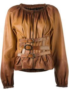 рубашка с пряжками и застежкой-молнией Tom Ford