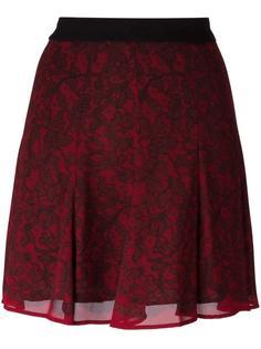 юбка с кружевным узором Michael Michael Kors