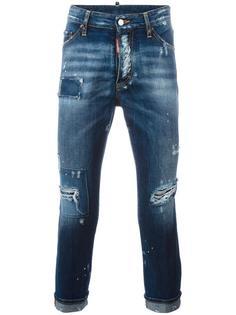 джинсы Glam Head с потертой отделкой Dsquared2