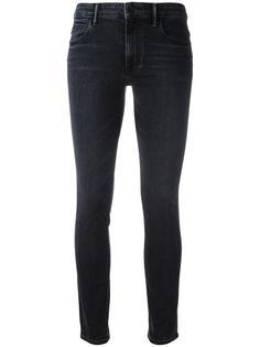 укороченные джинсы с завышенной талией Helmut Lang