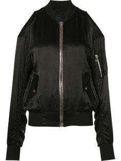 куртка-бомбер с открытыми плечами Rta