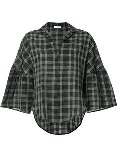 клетчатая блузка Tome