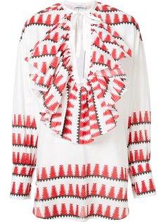 блузка с этническим узором Tome