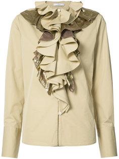 блузка с оборками спереди Tome