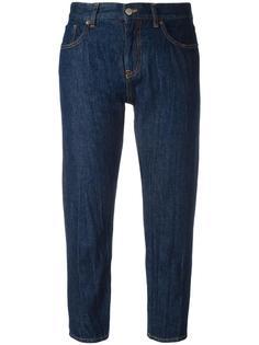 зауженные укороченные джинсы Mm6 Maison Margiela