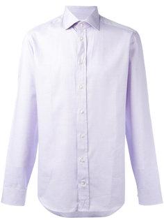 тканая хлопковая рубашка Armani Collezioni