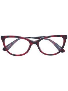 """очки с оправой """"кошачий глаз"""" Dolce & Gabbana Eyewear"""