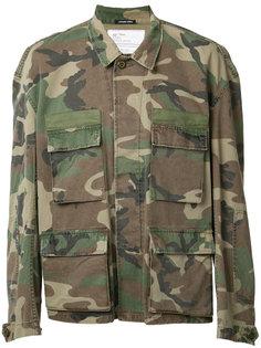 камуфляжная куртка в стиле милитари R13