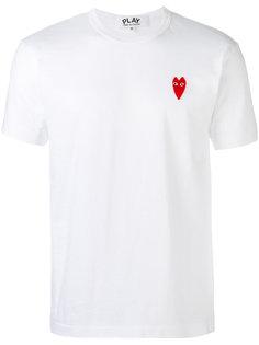 футболка с вышивкой логотипа Comme Des Garçons Play