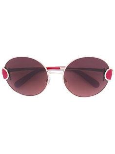солнцезащитные очки в круглой оправе Salvatore Ferragamo Eyewear