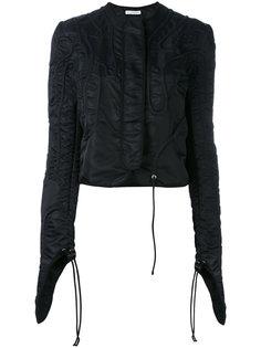 приталенная куртка с экстра длинными рукавами JW Anderson