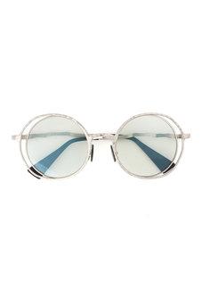 солнцезащитные очки в объемной оправе Kuboraum