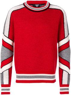 свитер в хоккейном стиле Dsquared2