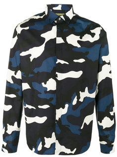 камуфляжная рубашка Valentino