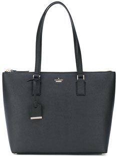 сумка-тоут с логотипом на бляшке Kate Spade
