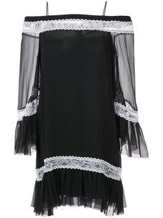 платье-туника с открытыми плечами  Alice+Olivia