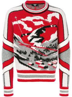 джемпер Ski с изображением лыжника Dsquared2