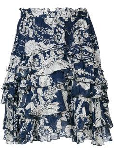 юбка с цветочным рисунком Just Cavalli