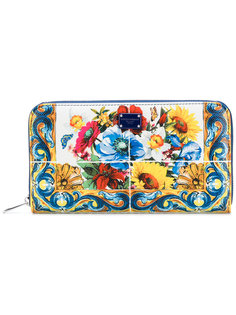 кошелек с узорами Dolce & Gabbana