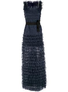 ribbons gown Gloria Coelho