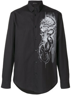 рубашка с принтом Medusa Versace