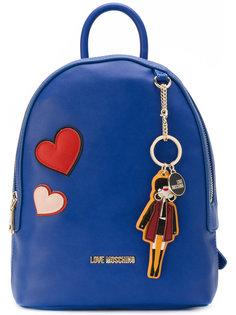 рюкзак с брелком Love Moschino