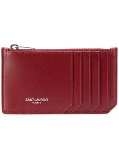 кошелек для карт с молнией Fragments Saint Laurent