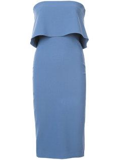 платье миди с оборками Likely